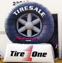 Tire Sale Balloons, Florida