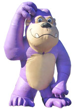 Giant Monkey Balloons
