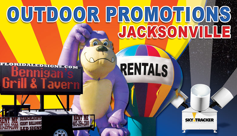 Outdoor Marketing and Promotions Jacksonville, Florida